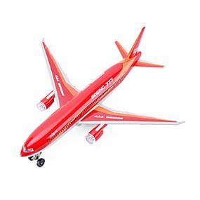 preiswerte Spielzeugflugzeuge-CAIPO Spielzeug-Flieger 777 Flugzeug Simulation Musik & Licht Unisex Spielzeuge Geschenk