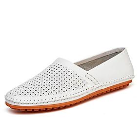 voordelige Wijdere maten schoenen-Heren Comfort Loafers Nappaleer Lente / Zomer / Herfst Loafers & Slip-Ons Wandelen Zwart / Wit / Geel / Combinatie / Toimisto & ura / EU40