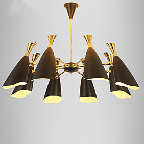 cheap Chandeliers-8-Light 90 cm Mini Style / Designers Chandelier Metal Electroplated Modern Contemporary / Traditional / Classic 110-120V / 220-240V