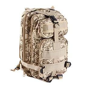 preiswerte Jagdtaschen-25 L Rucksack Multifunktions Wasserdicht tragbar Stoßfest Außen Camping & Wandern Freizeit Sport Reisen Camouflage Brown