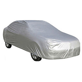 cheap Car Covers-Full Coverage Car Covers PEVA UV Resistant / Scratch-resistant / water-resistant For universal All Models All years for All Seasons