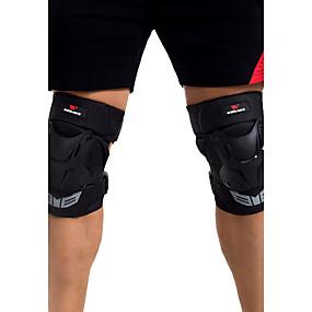 preiswerte Schutzausrüstung fürs Skifahren-Unisex Kniebandage für Skifahren Eislaufen Skateboarding Motorrad Skitourengehen Stoßresistent Verschleißfest 1 Paar Sport Draussen