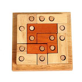 preiswerte Rätselspiele-Holzpuzzle Knobelspiele Luban Geduldspiel Intelligenztest Hölzern Unisex Spielzeuge Geschenk