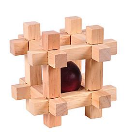 preiswerte Rätselspiele-Holzpuzzle Knobelspiele Luban Geduldspiel Intelligenztest Hölzern Unisex Jungen Mädchen Spielzeuge Geschenk