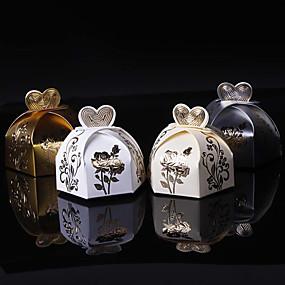 preiswerte Big Heard Love®-Kreisförmig / Quadratisch Kartonpapier Geschenke Halter mit Muster / Druck / Print Geschenkboxen