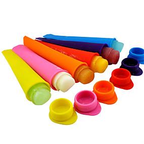 preiswerte Eis Geräte-Silikon Eis Pop Schimmel Popsicle Maker gefrorenen Fach diy Eis Werkzeuge Gelee Lolly Schimmel