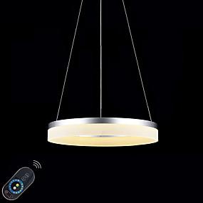 povoljno Lámpatestek-Privjesak Svjetla Ambient Light Slikano završi Metal Acrylic Zatamnjen, LED, Zatamnjen daljinskim upravljačem 110-120V / 220-240V Zatamnjen daljinskim upravljačem Uključen je LED izvor svjetlosti
