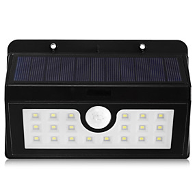 cheap Outdoor Lighting-BRELONG® 5 W LED Floodlight Outdoor Lights Waterproof Infrared Sensor Easy Install Natural White Wall Hallway / Stairwell Storage Room / Utility Room 20 LED Beads