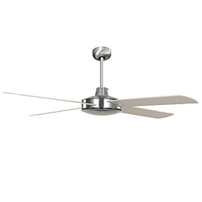 cheap Ceiling Lights & Fans-1-Light Ecolight™ 130 cm Designers Ceiling Fan Metal Nickel Modern Contemporary 220-240V