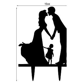 preiswerte Party Zubehör-Valentinstag Hochzeitsfeier Acryl Hochzeits-Dekorationen Klassisch Frühling Sommer Herbst Winter