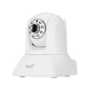 preiswerte EasyN-easyn® 1.0 mp cmos Innenkamera ir-cut Tag Nacht-Bewegungserkennung Dual-Stream-Fernzugriff Wi-Fi-geschütztes Setup Unterstützung für Überwachungskameras für Android iPhone OS
