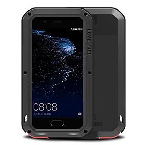 povoljno Maske za mobitele-Θήκη Za Huawei P10 Plus / P10 / Huawei Otporno na trešnju / Vodootpornost Korice Jednobojni Tvrdo Metal