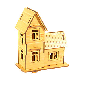 preiswerte 3D-Puzzles-3D - Puzzle Holzpuzzle Modellbausätze Haus Spaß Holz 1 pcs Klassisch Kinder Spielzeuge Geschenk