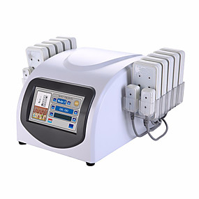 cheap Monitoring & Testing-Portable 14 Pads Lipo Laser Fat Loss Device With 88 Diodes Laser For Body Slimming