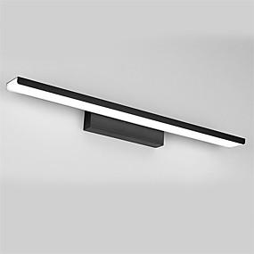 cheap Vanity Lights-LED Mirror Lamp 81cm 32W Bathroom Lights Aluminum Brushed Materials Cabinet Wall Lights Make-Up Lighting Vanity Light
