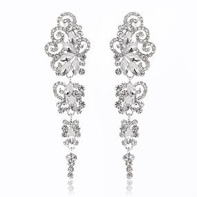 povoljno Nakit za vjenčanje i izlaske-Žene Viseće naušnice Klasik Moda Naušnice Jewelry Pink Za Vjenčanje Party Special Occasion Angažman
