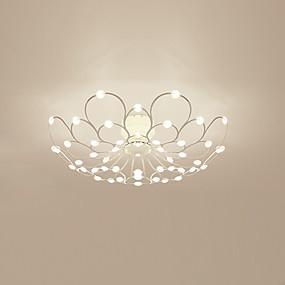 preiswerte Befestigungen für Beleuchtung-Modern / Zeitgenössisch / Beleuchtung Raumbeleuchtung Lackierte Oberflächen Metall 110-120V / 220-240V Wärm Weiß / Kühl Weiß Inklusive Glühbirne