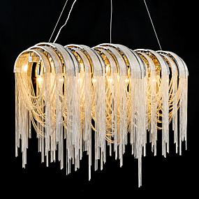 povoljno Lámpatestek-7-Light Privjesak Svjetla Ambient Light Electroplated Metal Zatamnjen, dizajneri 110-120V / 220-240V