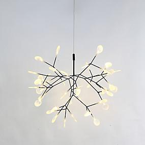preiswerte Befestigungen für Beleuchtung-Sputnik Kronleuchter Raumbeleuchtung Lackierte Oberflächen Metall 110-120V / 220-240V Wärm Weiß LED-Lichtquelle enthalten / integrierte LED