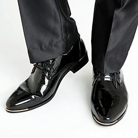 preiswerte Amir®-Herrn Formal Schuhe Mikrofaser Frühling / Herbst Geschäftlich Outdoor Schwarz / Königsblau / Rot / Hochzeit / Party & Festivität / Schnürsenkel / Party & Festivität / Komfort Schuhe