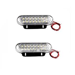 billige Spesialtilbud-Sportsbil / Terrengkjøretøy / Traktor Elpærer 10W SMD LED 500lm LED Dagkjøringslys For Universell Alle Modeller Alle år