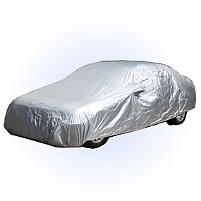 cheap Car Covers-Full Coverage Car Covers PEVA Waterproof / Windproof / UV Resistant Car Cover Rainproof Sunscreen Dustproof Car Clothing For universal All Models All years for All Seasons