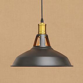 povoljno Viseća rasvjeta-Privjesak Svjetla Ambient Light Slikano završi Metal Mini Style, dizajneri 220-240V / 100-120V Bulb Included / E26 / E27