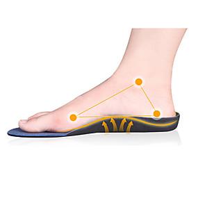 preiswerte Wandergeschäft-2pcs Federung Orthesen Diese schneidbare Einlegesohle bietet Stoßfestigkeit für Sportschuhe, die Ihren Fuß atmen lässt. Atmungsaktivität