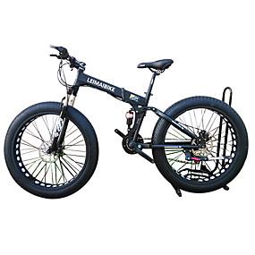 preiswerte Sport & Outdoor-Falträder / Schneefahrrad Radsport 21 Geschwindigkeit 26 Zoll / 700CC 40mm SHIMANO 51-7 Doppelte Scheibenbremsen Federgabel Hintere Federung gewöhnlich Aluminiumlegierung