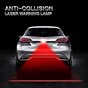 preiswerte Ungewöhnliche Lampen und Lichter-Auto Auto Antikollision Laserlicht Automobil Lazer Rücklicht Nebel Rücklicht Warnalarm Lichter Motorrad LKW