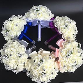 preiswerte Hochzeitsblumen-Hochzeitsblumen Sträuße / Einzigartiges Hochzeits-Dekor / Anderen Hochzeit / Besondere Anlässe / Party / Abend Material / Spitze 0-20cm