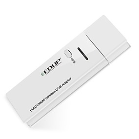 cheap Network Adapters-EDUP USB wireless wifi adapter 1200Mbps 11AC dual band wirelss network card wifi dongle EP-AC1601