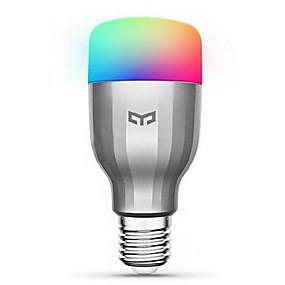 preiswerte Ausverkauf-Xiaomi 1pc 9 W Smart LED Glühlampen 600 lm E26 / E27 19 LED-Perlen SMD Funktioniert mit Amazon Alexa Google Home Warmes Weiß Kühles Weiß RGB 220-240 V / 1 Stück
