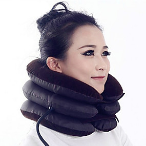 cheap Massagers & Supports-Head & Neck Neck Massager Air Pressure Massage Inflated Relieve neck and shoulder pain Neck Support Posture Corrector Support Portable