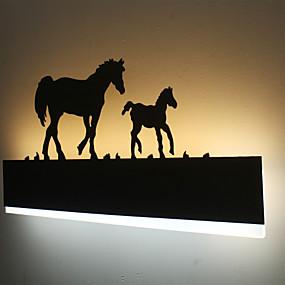 povoljno Lámpatestek-LED Zidne svjetiljke Za Metal zidna svjetiljka 110-120V 220-240V 16W