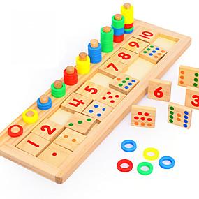 preiswerte Pädagogisches Spielzeug-Montessori Lernspielzeug Bausteine Mathe-Spielzeug Bildungsspielsachen Umweltfreundlich Bildung Klassisch Kinder Spielzeuge Geschenk