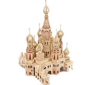 preiswerte Modelle & Modell Kits-3D - Puzzle / Holzpuzzle / Modellbausätze Burg / Berühmte Gebäude / Haus Heimwerken Hölzern Klassisch Kinder Unisex Geschenk