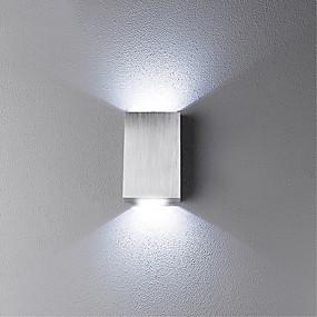 hesapli Işıklar ve Aydınlatma-Duvar ışığı Ortam Işığı Duvar lambaları 2 W 85-265V Birleştirilmiş LED LED / Yenilikçi