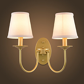 povoljno Lámpatestek-Rustic/Lodge Jednostavan Modern/Comtemporary Tradicionalni / klasični Zidne svjetiljke Za Metal zidna svjetiljka 220V 110V 60W