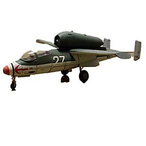 preiswerte 3D-Puzzles-3D - Puzzle Papiermodel Flugzeug Kämpfer Heimwerken Hartkartonpapier Kinder Unisex Spielzeuge Geschenk