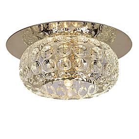 povoljno Stropna svjetla i ventilatori-LightMyself™ Flush Mount Ambient Light Crystal, Mini Style 110-120V / 220-240V Bulb Included / G4