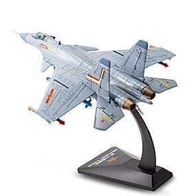 preiswerte Modelle & Modell Kits-KDW Spielzeug-Autos Modellauto Flugzeug Shark Simulation Metalllegierung Legierungsmetall Kinder Jungen Spielzeuge Geschenk