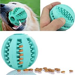 preiswerte Gifts for Soccer Fans-Katze Hund Haustiere Spielzeuge 1 Leicht zu installieren Elasthan Futterspender Gummi Geschenk