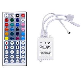 preiswerte Lichtschalter-hkv® 44 schlüssel ir fernbedienung rgb led dimmer für led-streifen lampe licht mini rgb controller