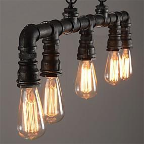 povoljno Viseća rasvjeta-5-Light Konyhasziget Privjesak Svjetla Ambient Light Slikano završi Metal Mini Style 110-120V / 220-240V / E26 / E27