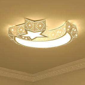 preiswerte Kinderzimmer-Unterputz Raumbeleuchtung Lackierte Oberflächen Metall Acryl Inklusive Glühbirne 110-120V / 220-240V Wärm Weiß / Weiß LED-Lichtquelle enthalten / integrierte LED