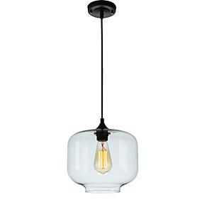 preiswerte Befestigungen für Beleuchtung-Pendelleuchten Raumbeleuchtung Glas Glas Ministil, Verstellbar, Designer 110-120V / 220-240V / E26 / E27