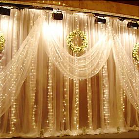 billige Festsouvenirs og gaver-Unik bryllupspynt PVC / PCB + LED Bryllup Dekorationer Jul / Bryllup / Fest Klassisk Tema Alle årstider