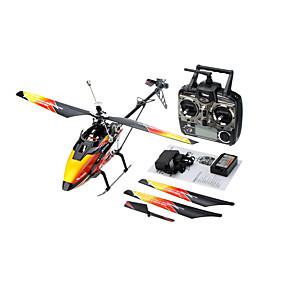 preiswerte Drones-RC Hubschrauber WLtoys V913 4 Kan?le 3 Achsen 2.4G - RTF Auto-Takeoff Fernbedienungskontrolle / Großer Hubschrauber