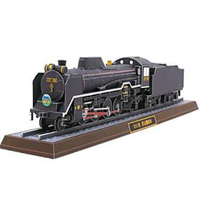 preiswerte 3D-Puzzles-3D - Puzzle Papiermodel Schleppe Dampflokomotive Heimwerken Hartkartonpapier Züge Kinder Unisex Spielzeuge Geschenk